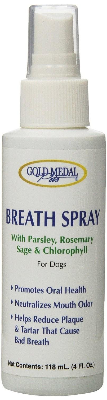 Spray pentru respiraţia şi igiena orală la câini şi pisici