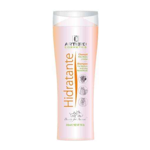 Şampon concentrat Artero Hidratant 250 ml - blană medie sau lungă, blană uscată sau deteriorată