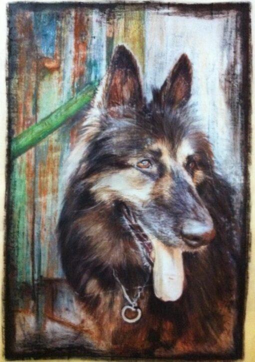 Desen artistic cu animalul tau 40 x 50