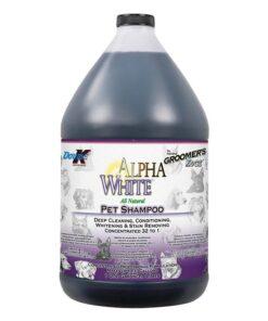 Șampon concentrat 32:1 Double K Alpha White 3.8 L